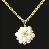 Pearl Cluster Pendant